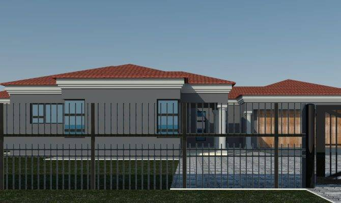 South African Tuscan House Plans Designs Style