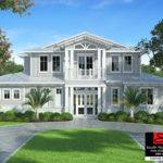 South Florida Designs Waterside Story Coastal House Plan