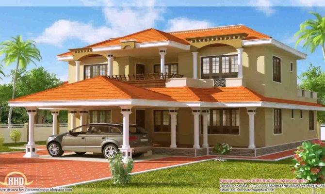 South Indian House Portico Design Youtube