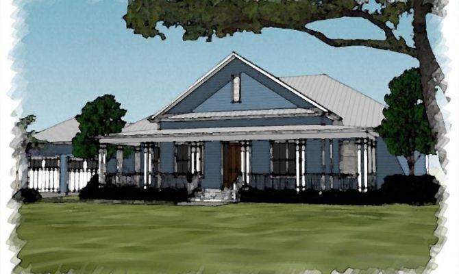 Southern Charm House Plan Wrap Around Porch Plans