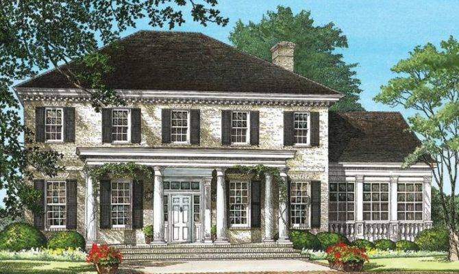 Southern Colonial Houseplan House Plans