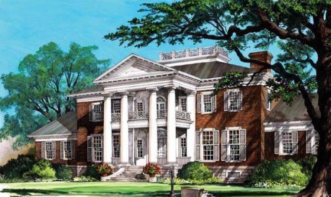Southern Colonial Plantation House Pixshark