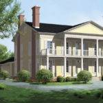 Southern Colonial Style House Homes Week