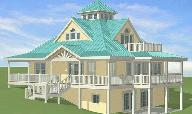 Southern Cottages House Plans Sloping Sites