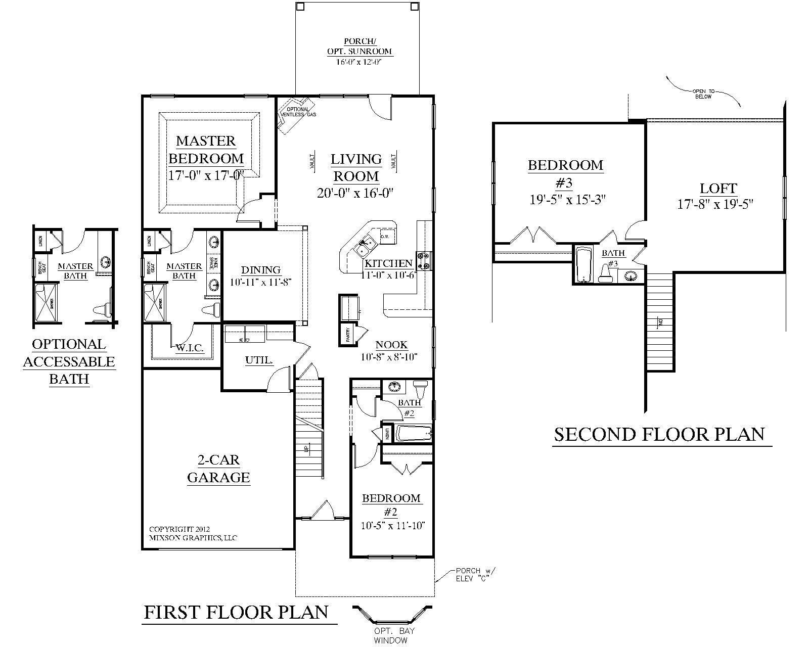 Southern Heritage Home Designs House Plan Englewood Home Plans Blueprints 20830