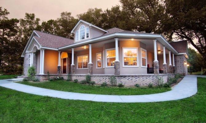 Southern Home Designs Wrap Around Porches