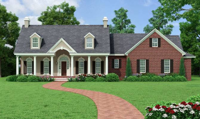 Southern House Plan Bedrooms Baths