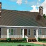 Southern House Wrap Around Porch