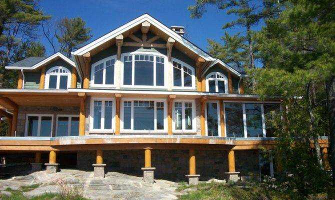 Southern Lakefront Home Plans Design Style