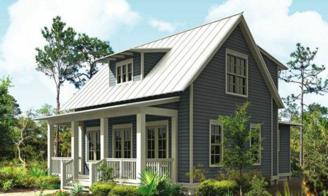 Southern Living Cottages Small Cottage House Plans One