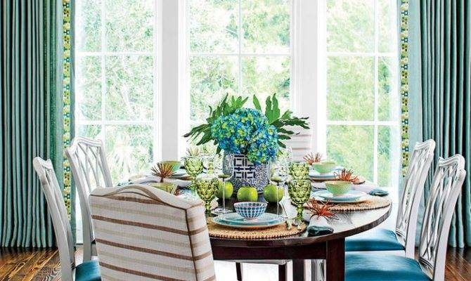 Southern Living Dining Room