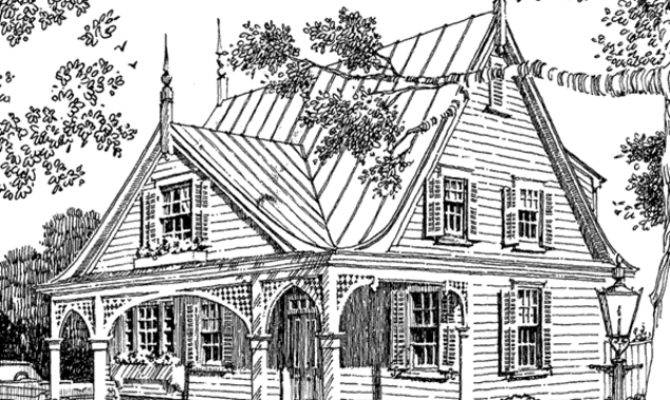 Southern Living House Plans Gothic Revival