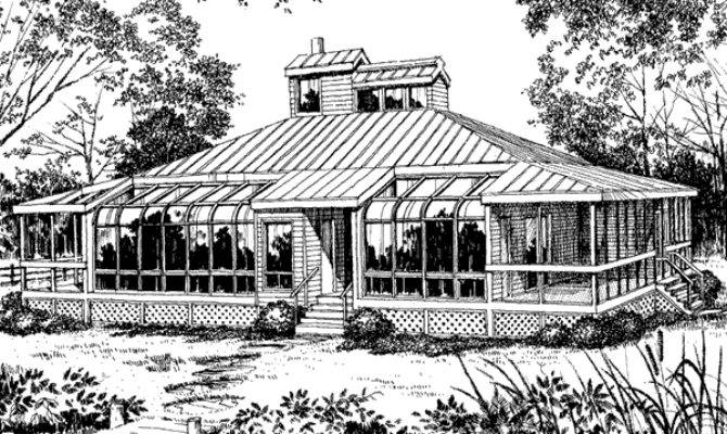 Southern Living House Plans Tidewater Low Country