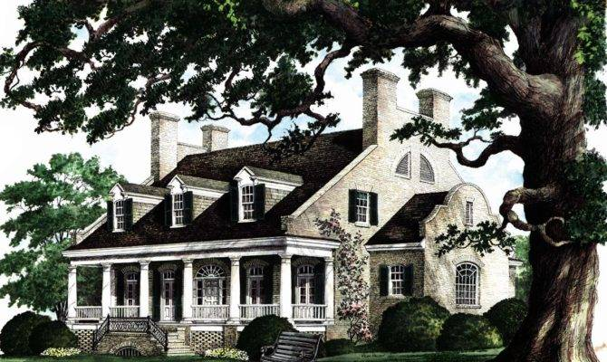 Southern Mansion Plans