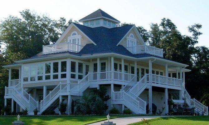 Southern Plantation House Plans Wrap Around Porch