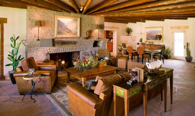 Southwest Style Home Traces Spanish Colonial Native American