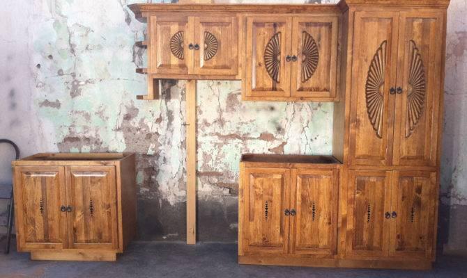 Southwest Style Kitchens Taos Sunbursts