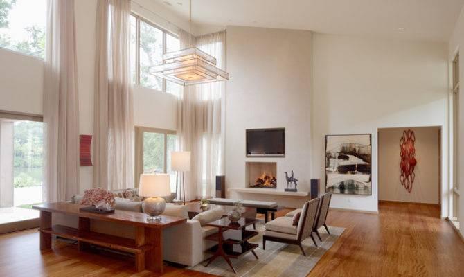 Spa House Lake Relaxed Modern Living