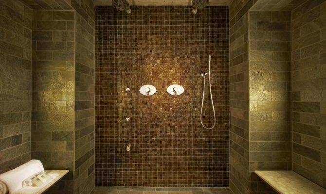 Spa Tranquil Suite Inspired Shower Rainfall Heads