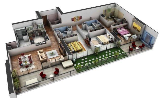 Spacious Bedroom House Plans Interior Design Ideas