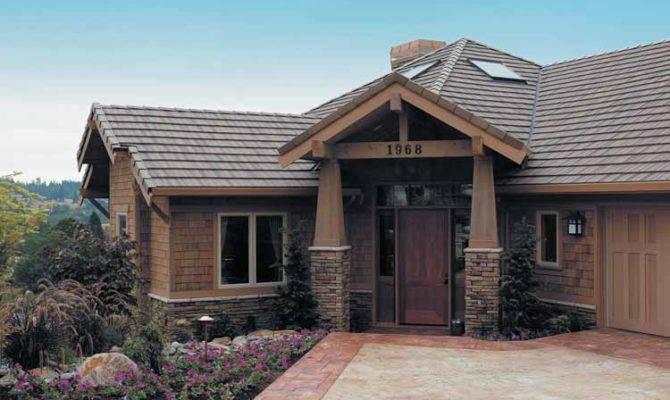 Spacious Hillside Craftsman Home Plan