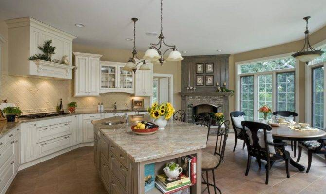 Spacious Kitchen Sophistication Orren Pickell