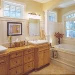 Spacious Master Bath Double Vanity Built Tub Create