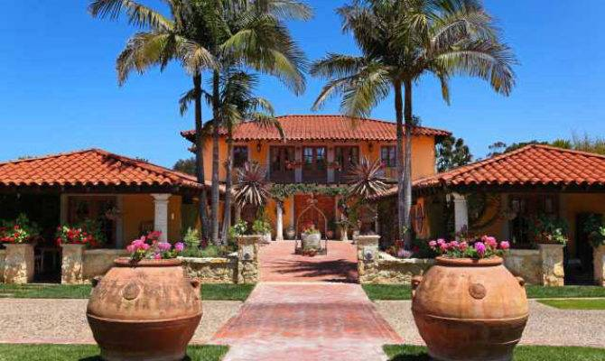 Spanish Colonial Hacienda Style Home Touch