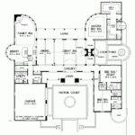 Spanish Hacienda Floor Plans Eplans Southwest House Plan