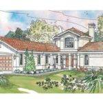 Spanish House Plans Inner Courtyard Style