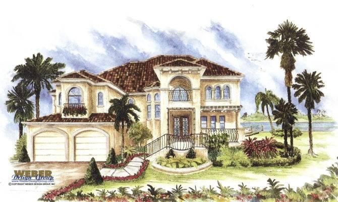 Spanish House Plans Mediterranean Style Home