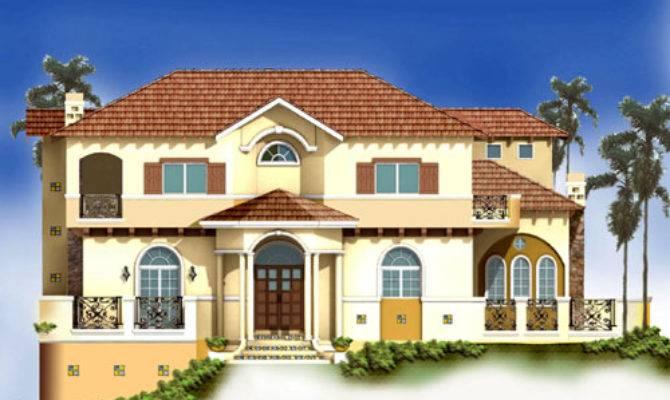 Spanish Mediterranean Home Plans Floor