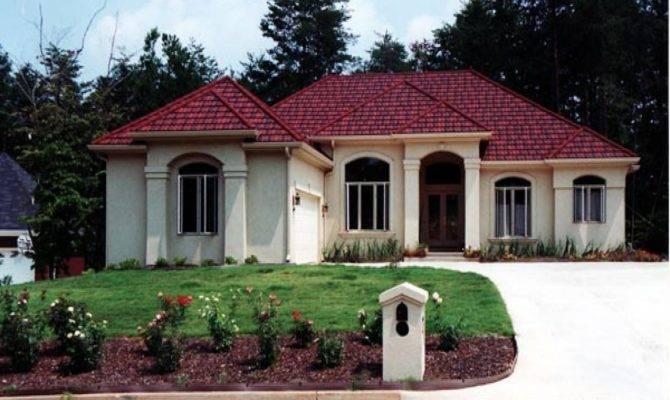 Spanish Mediterranean Style Home Plans