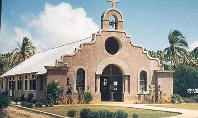 Spanish Mission Style Architecture Santa Teresita