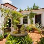 Spanish Style Courtyard Colonial Homes Pinterest