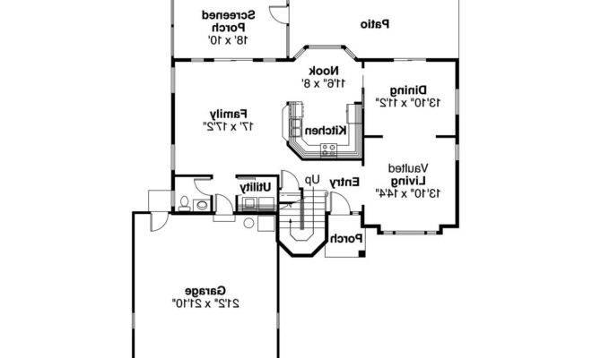 Spanish Style House Plan Villa Real Floor