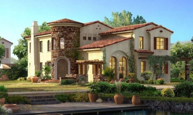 Spanish Style House Plans Exotic Design