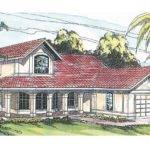 Spanish Style House Plans Kendall Associated Designs