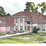 Spanish Style House Plans Stanfield Associated Designs