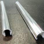 Sparkling Chrome Snap Pipe Sleeves Diameter Length