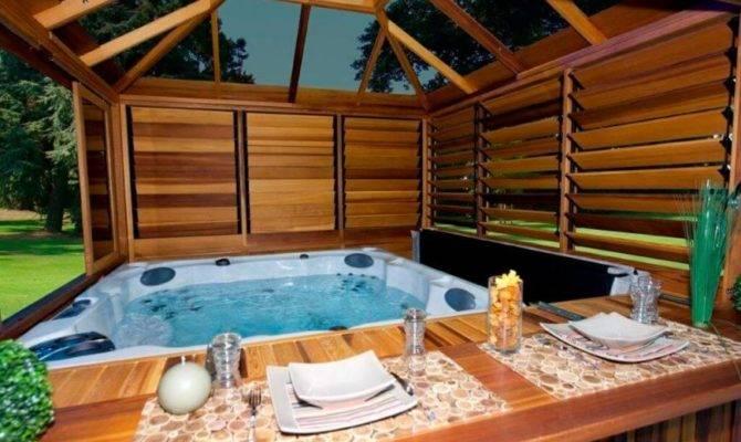 Spectacular Hot Tub Gazebo Ideas