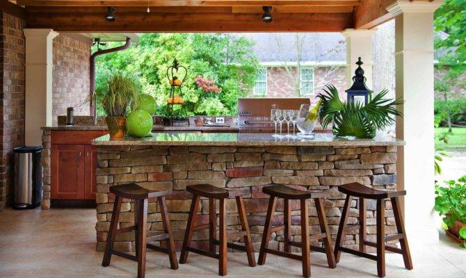 Spectacular Outdoor Kitchens Bars Entertaining