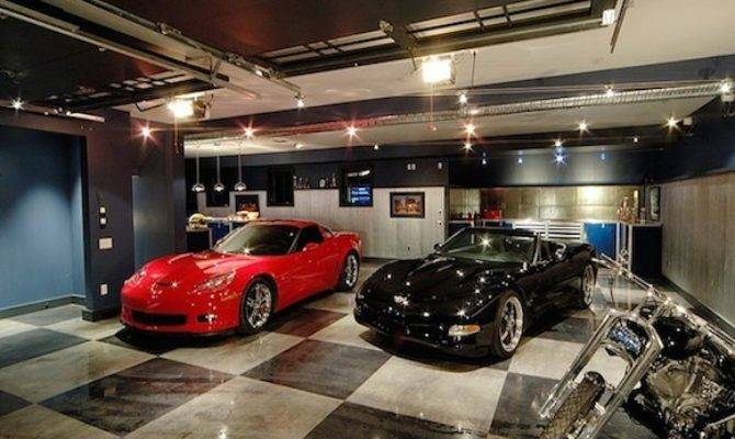 Spectacular Private Showroom Garages Pricey Pads