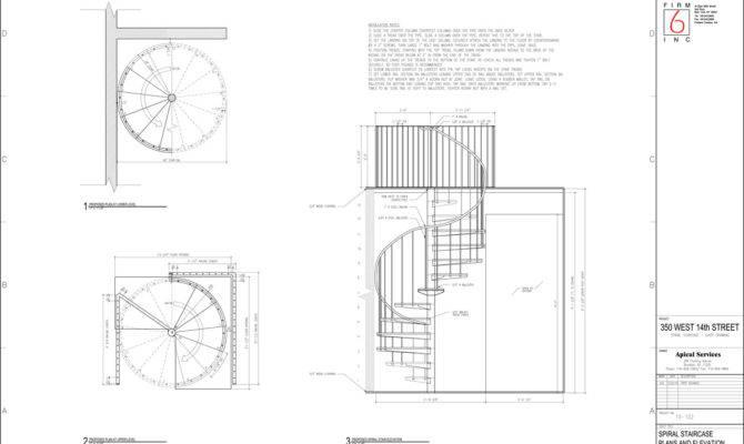 Spiral Stair Floor Plan Design