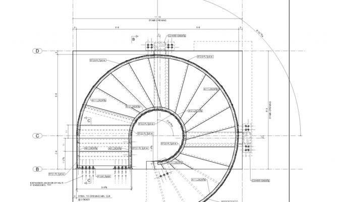 Spiral Staircase Plans