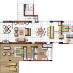 Splendid Apartment Floor Plans Floorplan Fancy