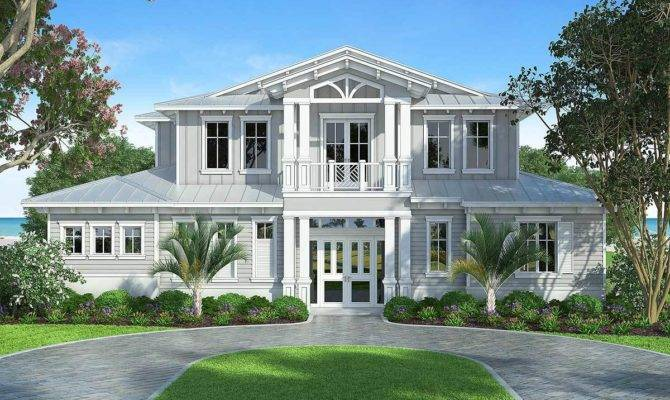 Splendid Old Florida Style House Plan