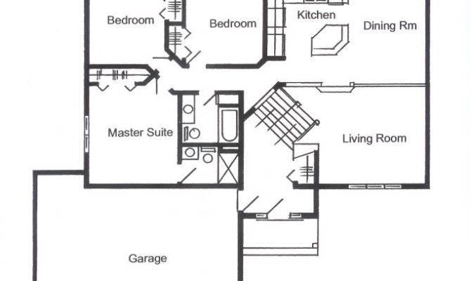 Split Foyer Floor Plans Unique House