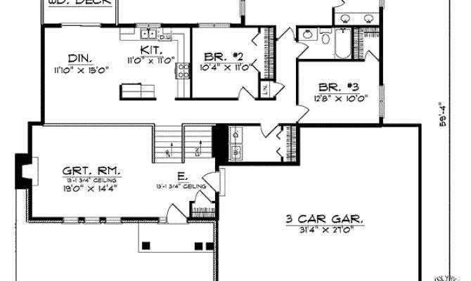 Split Foyer House Plans Home Design Style
