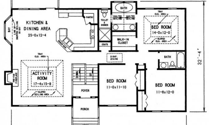 Split Foyer House Plans Plan Detail
